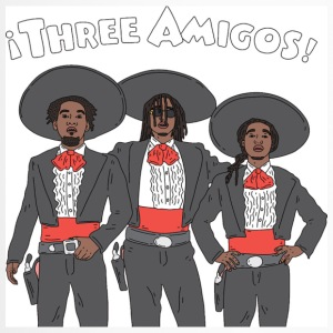 3 Amigos - Travel Mug