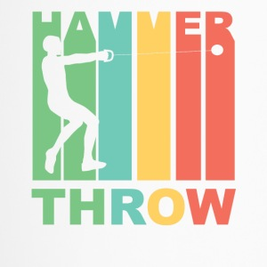 Vintage Hammer Throw Graphic - Travel Mug