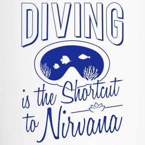 Diving is the shortcut to Nirvana - Travel Mug