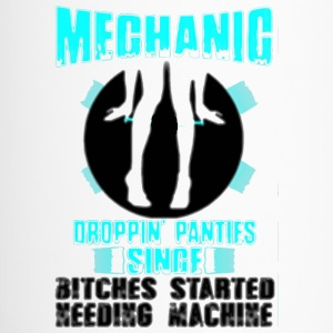 mechanic droppin panties singe - Travel Mug