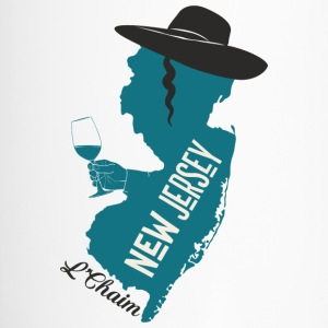 A funny map of New Jersey - Travel Mug