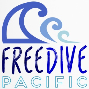 Freedive pacific - Travel Mug