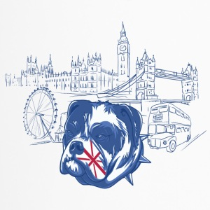 London with dog - Travel Mug