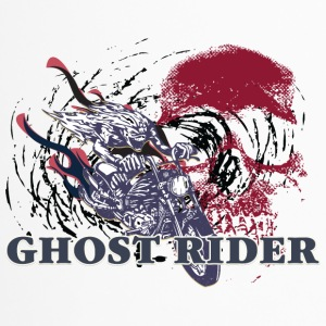 GHOST_RIDER_RED_SKULL - Travel Mug