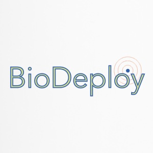 BioDeploy Logo Blue Mix - Travel Mug