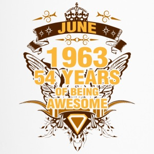 June 1963 54 Years of Being Awesome - Travel Mug