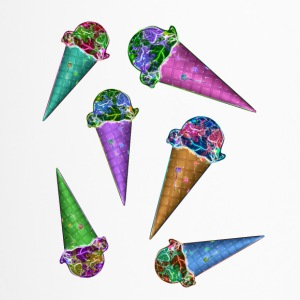 Ice cream cones & cones & cones - Travel Mug