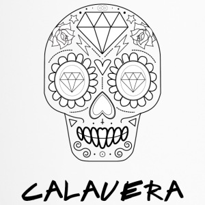 Calavera black - Travel Mug