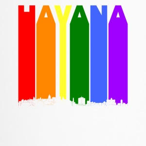 Havana Cuba Skyline Rainbow LGBT Gay Pride - Travel Mug