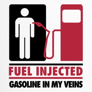Fuel Injected Gasoline In My Veins T Shirt - Travel Mug
