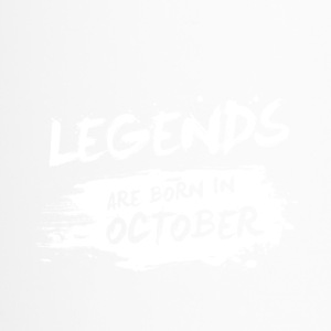 Legends are born in October - Travel Mug
