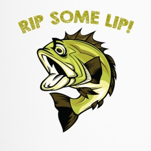 Fish rip some lip - Travel Mug