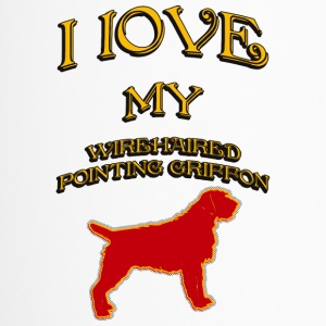 I LOVE MY DOG Wirehaired Pointing Griffon - Travel Mug