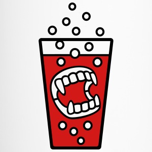 teeth vampire halloween - Travel Mug