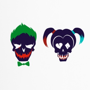 Harley quinn and Joker from suicide squad - Travel Mug