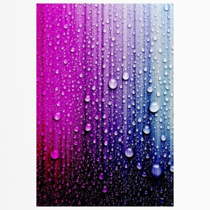 Abstract Rain - Travel Mug