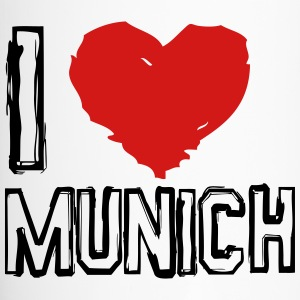 I LOVE MUNICH - Travel Mug