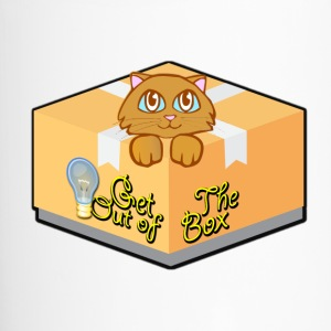 Get Out of The Box Meow T-shirt - Travel Mug