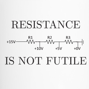 Resistance is not Futile - Travel Mug