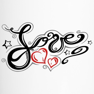 Love logo, Tribal and Tattoo style - Travel Mug