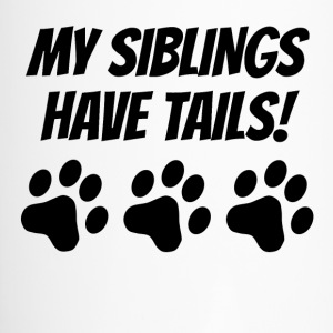 My Siblings Have Tails - Travel Mug