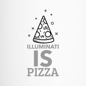 Illuminati and pizza - Travel Mug