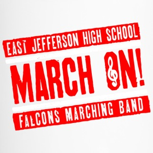 East Jefferson High School March On Falcons March - Travel Mug