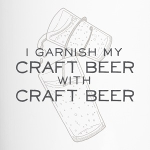 I Garnish my Craft Beer with Craft Beer - Travel Mug
