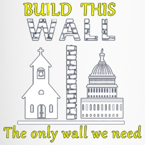Build This Wall Secularism - Travel Mug