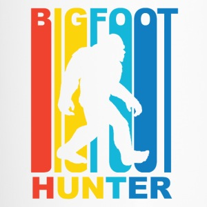 Vintage Bigfoot Hunter Graphic - Travel Mug