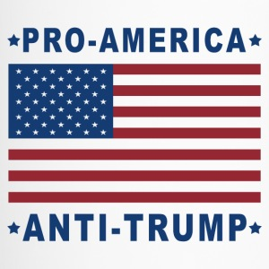 PRO-AMERICA ANTI-TRUMP - Travel Mug