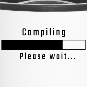 Compiling - Please wait - Travel Mug