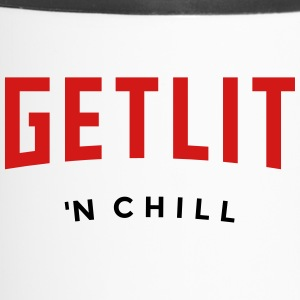 GET LIT 'N CHILL - (Netflix feel) - Travel Mug