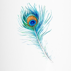 Peacock Feather - Travel Mug