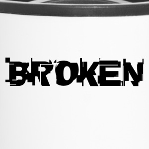 Broken by Fanitsa Petrou - Travel Mug