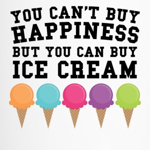 You Can't Buy Happiness Buy You Can Buy Ice Cream - Travel Mug