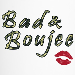 Bad And Boujee Camo Red lips - Travel Mug