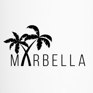 Marbella Palm Trees - Travel Mug