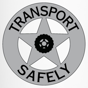 Transport Safely Logo - Travel Mug