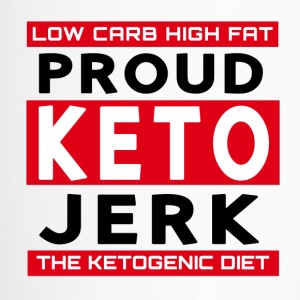 Low Carb High Fat Proud Keto Jerk Ketogenic Diet - Travel Mug