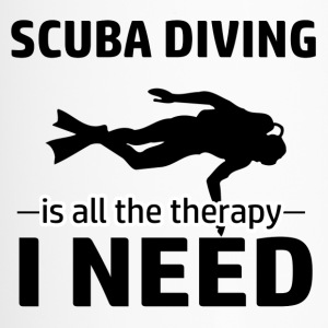 Scuba Diving is my therapy - Travel Mug