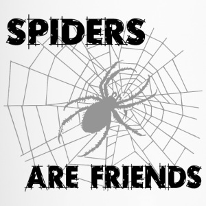 spiders are friends - Travel Mug