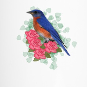 Bird and Roses - Travel Mug