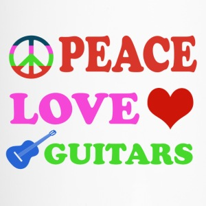 Peace love Guitars - Travel Mug