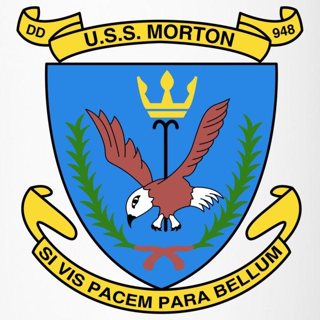 USS MORTON DD 948 CREST
