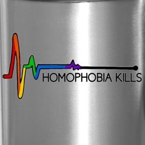 Homophobia Kills - Travel Mug