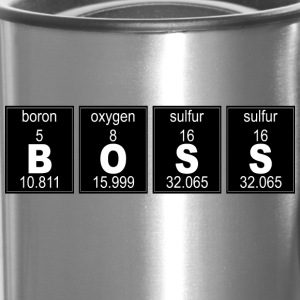 Chemistry BOSS - Travel Mug