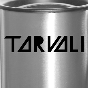 Tarvali Logo in Black - Travel Mug