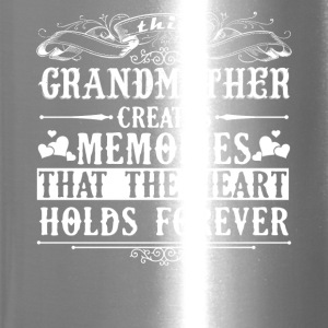 Grandmother Created Memories Shirt - Travel Mug