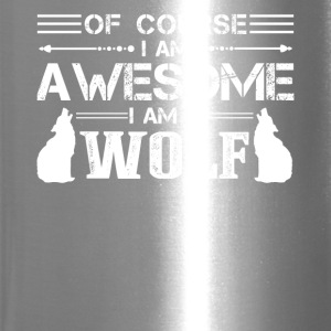 I Am A Wolf Shirt - Travel Mug
